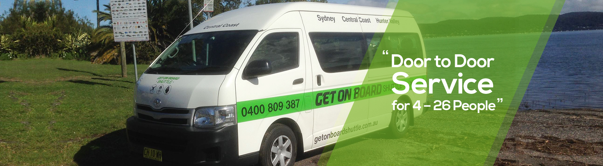 Shuttle Central Coast - Hunter Valley - Newcastle - Sydney